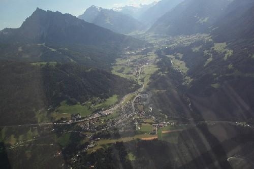 Ein tyisches Alpental